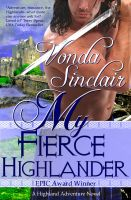 Cover for 'My Fierce Highlander'