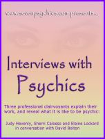 Cover for 'Interviews with Psychics'