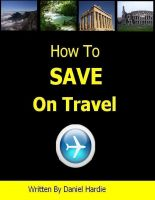 Cover for 'How to Save on Travel'