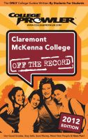 Cover for 'Claremont McKenna College 2012'