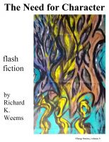 Cover for 'The Need for Character - flash fiction'