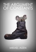 Cover for 'The Argument of Constants'
