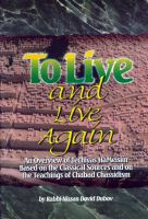 Cover for 'To Live and Live Again'