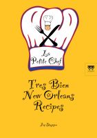 Cover for 'Tres Bien New Orleans Recipes - La Petite Chef'