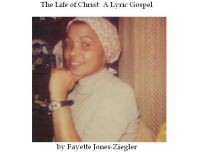 Cover for 'The Life of Christ: A Lyric Gospel'