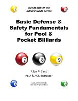 Cover for 'Basic Defense & Safety Fundamentals for Pool & Pocket Billiards'