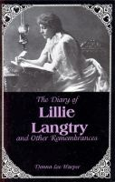 Cover for 'The Diary of Lillie Langtry'