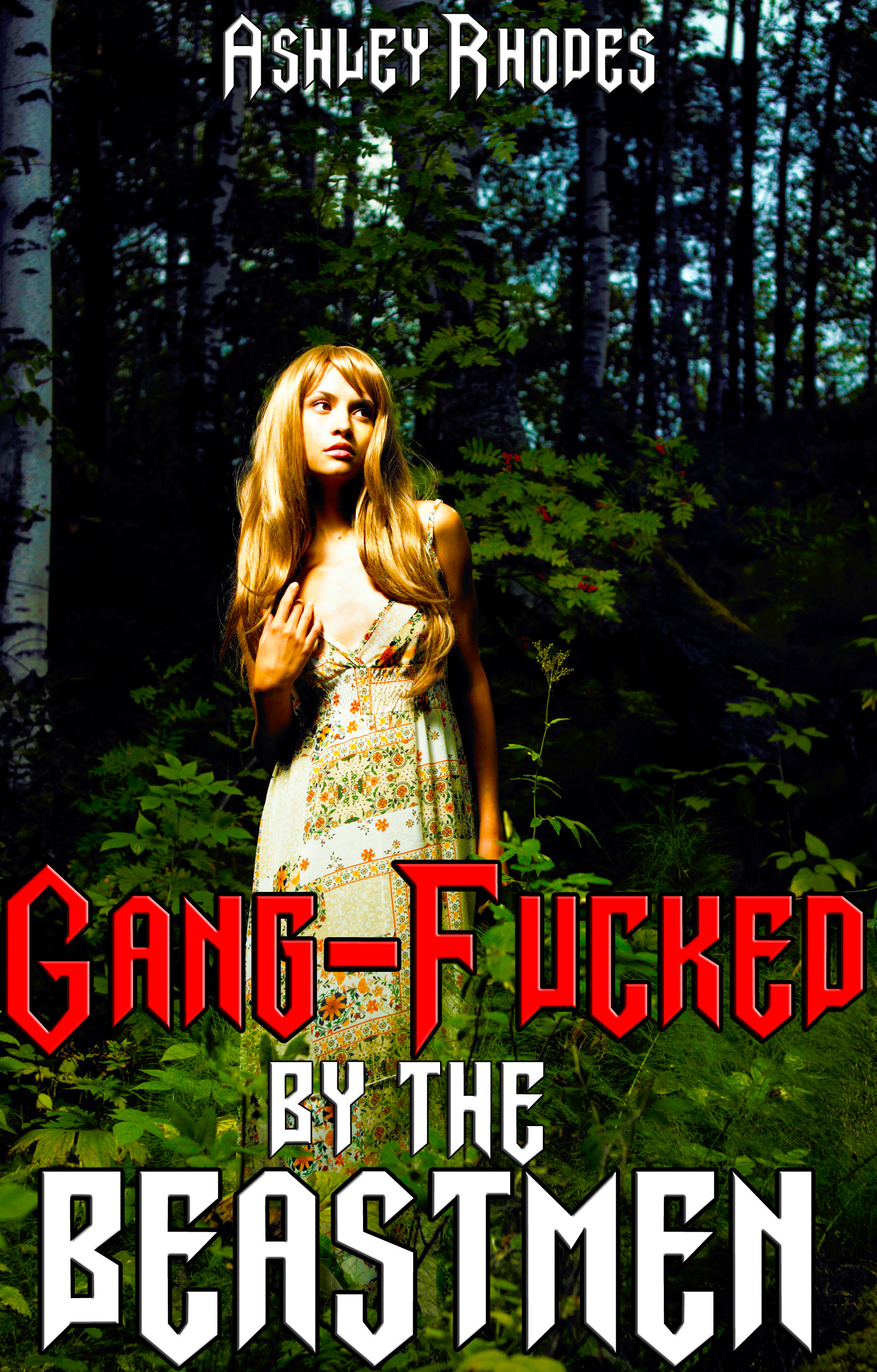 Ashley Rhodes - Gang-Fucked by the Beastmen (Reluctant Defloration Monster Sex Erotica)