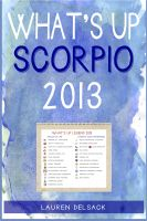 Cover for 'What's Up Scorpio 2013'