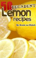 Cover for '50 Decadent Lemon Recipes'