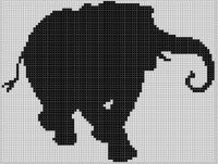 Cover for 'Elephant Cross Stitch Pattern'