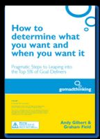 Cover for 'How to determine what you want and when you want it.'