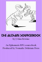 Cover for 'The Althani Sourcebook: An Ephemeris RPG supplement'