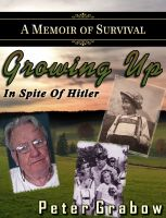 Cover for 'Growing up in spite of Hitler'