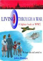 Cover for 'Living Through a War'