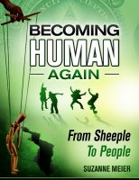 Cover for 'Becoming Human Again'