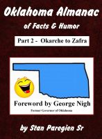 Cover for 'Oklahoma Almanac of Facts & Humor: Part 2 - Okarche to Zafra'