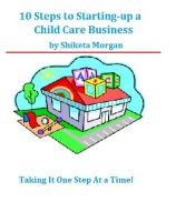 Cover for '10 Steps to Starting a Child Care Business'