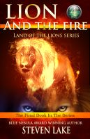 Cover for 'Lion and the Fire'