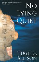 Cover for 'No Lying Quiet'