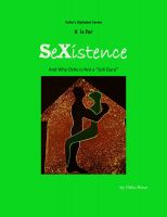 Cover for 'X is for SeXistence and Why Osho is Not a 'SeX Guru''