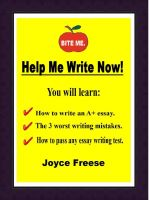 Cover for 'Help Me Write Now!'