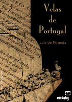 Cover for 'Velas de Portugal'