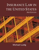 Cover for 'Insurance Law in the United States'