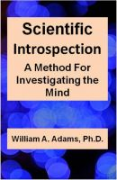 Cover for 'Scientific Introspection: A Method For Investigating the Mind'