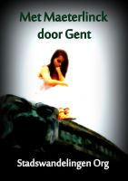 Cover for 'Met Maeterlinck door Gent'