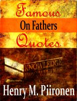 Cover for 'Famous Quotes on Fathers'