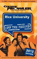 Cover for 'Rice University 2012'