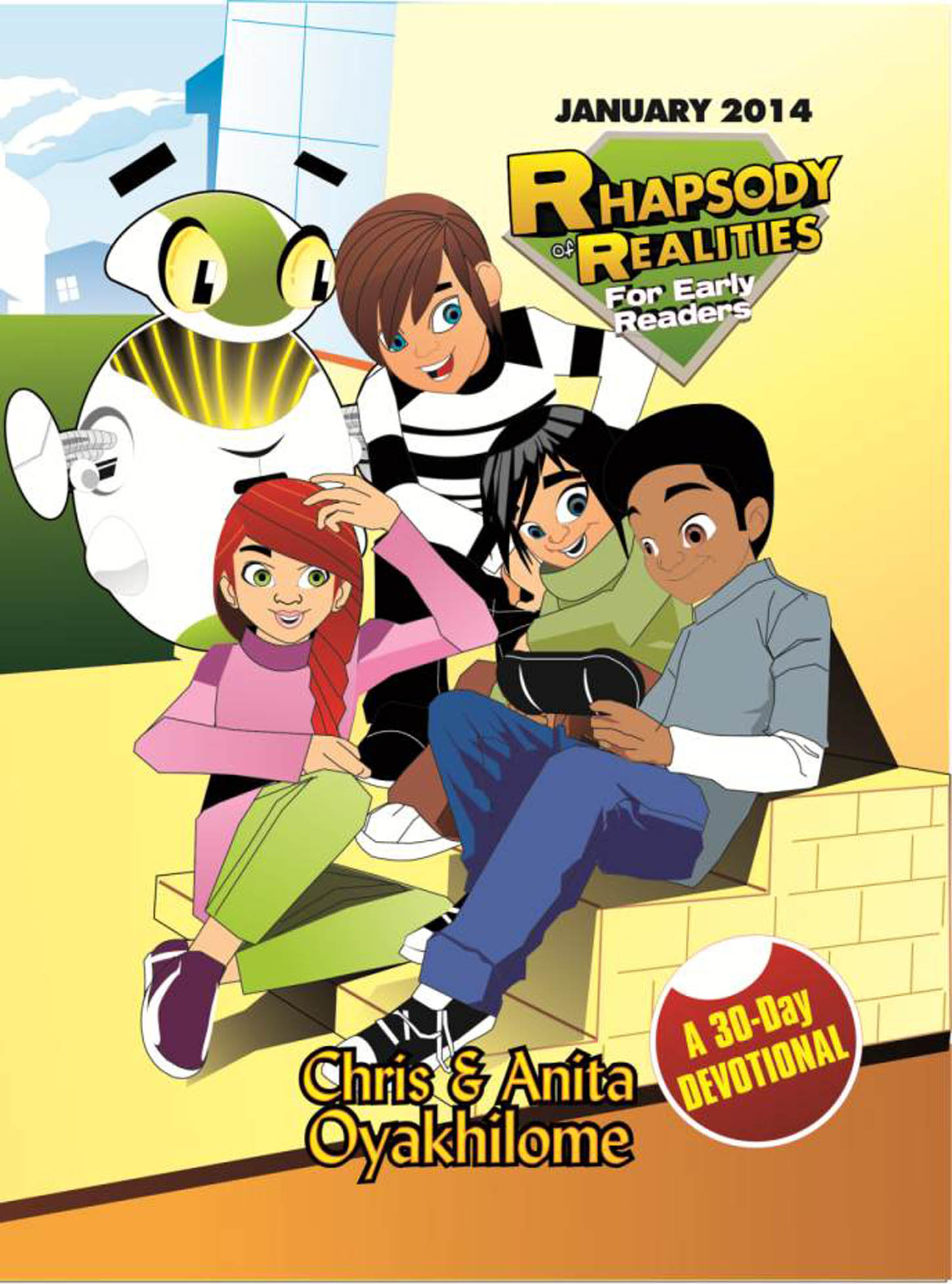 Pastor Chris and Anita Oyakhilome - Rhapsody of Realities for Early Readers – January 2014 Revised Edition