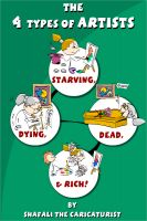 Cover for 'The 4 Types of Artists – Starving, Dying, Dead, and Rich!'