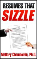 Mallory Chamberlin - Resumes That Sizzle Template for MSWord