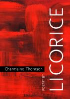 Cover for 'Licorice Poetry by Charmaine Thomson'