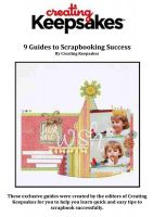 Cover for '9 Guides to Scrapbooking Success'