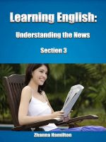 Cover for 'Learning English: Understanding the News (Section 3)'
