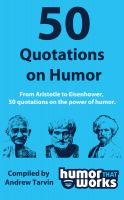 Cover for '50 Quotations on Humor'