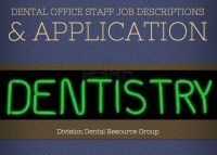 Cover for 'Dental Office Staff Job Description, Duties & Job Application'