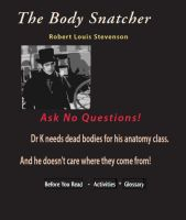 Cover for 'The Body Snatcher'