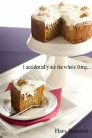Cover for 'I accidentally ate the whole thing'