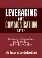 Cover for 'Leveraging Your Communication Style'