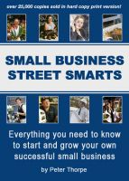 Cover for 'Small Business Street Smarts'