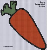 Cover for 'Carrot Cross Stitch Pattern'