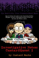 Cover for 'CustardQuest I - The Real-Life, True Treasure-Hunt Game'