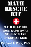 Cover for 'Math Rescue Kit'