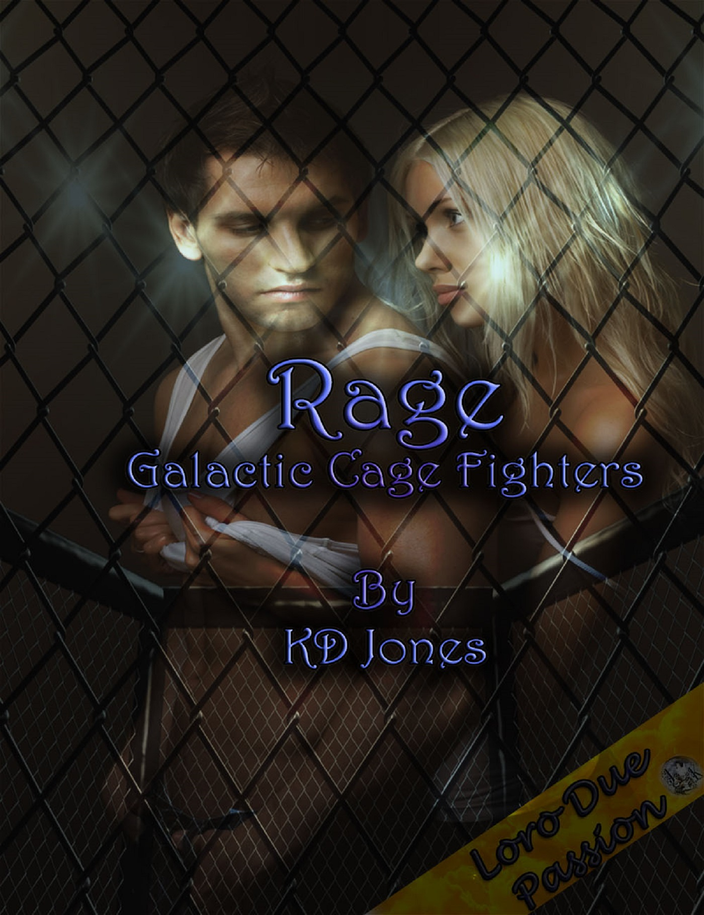 K.D. Jones - Rage: Galactic Cage Fighters