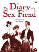 Cover for 'The Diary of a Sex Fiend'