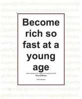 Cover for 'Become rich so fast at a young age'